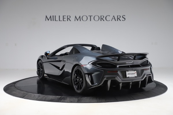 New 2020 McLaren 600LT SPIDER Convertible for sale $309,620 at Rolls-Royce Motor Cars Greenwich in Greenwich CT 06830 4
