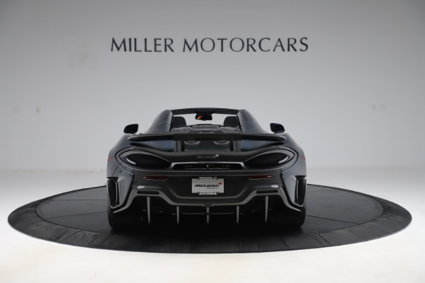 New 2020 McLaren 600LT SPIDER Convertible for sale $309,620 at Rolls-Royce Motor Cars Greenwich in Greenwich CT 06830 5
