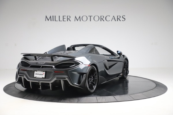 New 2020 McLaren 600LT SPIDER Convertible for sale $309,620 at Rolls-Royce Motor Cars Greenwich in Greenwich CT 06830 6