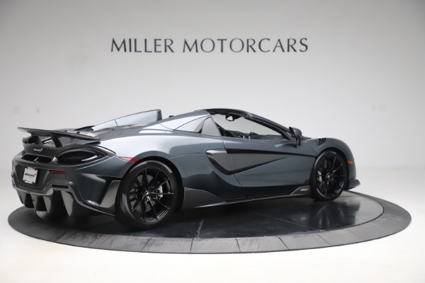 Used 2020 McLaren 600LT SPIDER Convertible for sale $249,900 at Rolls-Royce Motor Cars Greenwich in Greenwich CT 06830 7