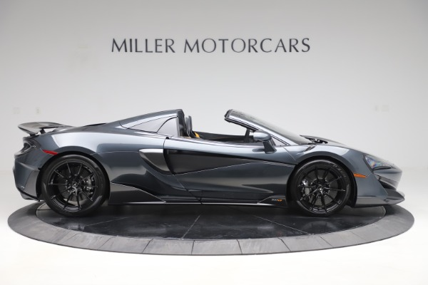 New 2020 McLaren 600LT SPIDER Convertible for sale $309,620 at Rolls-Royce Motor Cars Greenwich in Greenwich CT 06830 8