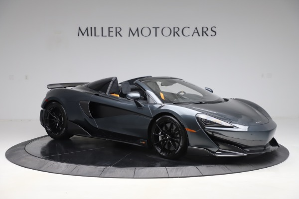 New 2020 McLaren 600LT SPIDER Convertible for sale Sold at Rolls-Royce Motor Cars Greenwich in Greenwich CT 06830 9