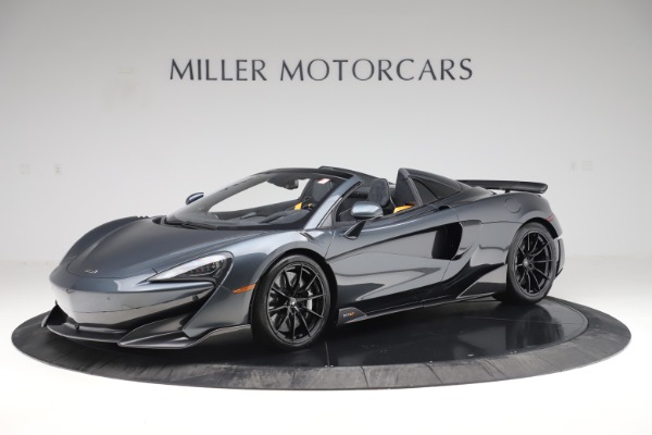 New 2020 McLaren 600LT SPIDER Convertible for sale $309,620 at Rolls-Royce Motor Cars Greenwich in Greenwich CT 06830 1