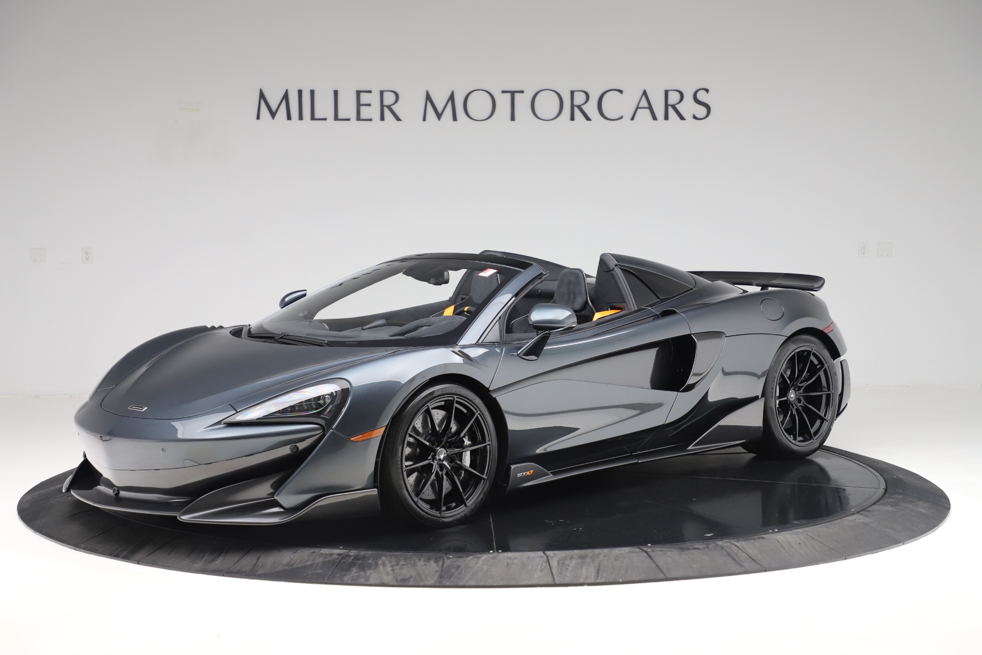 Used 2020 McLaren 600LT SPIDER Convertible for sale $249,900 at Rolls-Royce Motor Cars Greenwich in Greenwich CT 06830 1