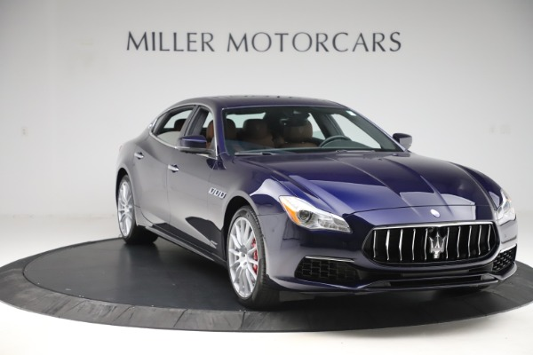 Used 2017 Maserati Quattroporte S Q4 GranLusso for sale Sold at Rolls-Royce Motor Cars Greenwich in Greenwich CT 06830 11