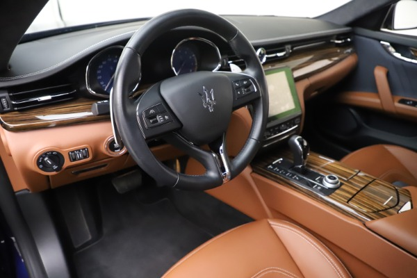 Used 2017 Maserati Quattroporte S Q4 GranLusso for sale Sold at Rolls-Royce Motor Cars Greenwich in Greenwich CT 06830 13