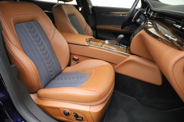 Used 2017 Maserati Quattroporte S Q4 GranLusso for sale Sold at Rolls-Royce Motor Cars Greenwich in Greenwich CT 06830 24