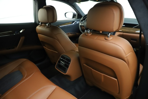 Used 2017 Maserati Quattroporte S Q4 GranLusso for sale Sold at Rolls-Royce Motor Cars Greenwich in Greenwich CT 06830 28