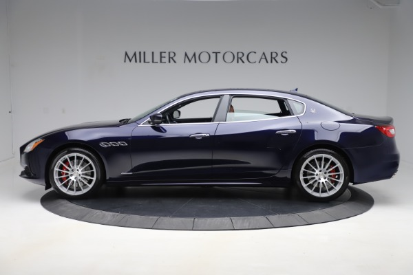 Used 2017 Maserati Quattroporte S Q4 GranLusso for sale Sold at Rolls-Royce Motor Cars Greenwich in Greenwich CT 06830 3