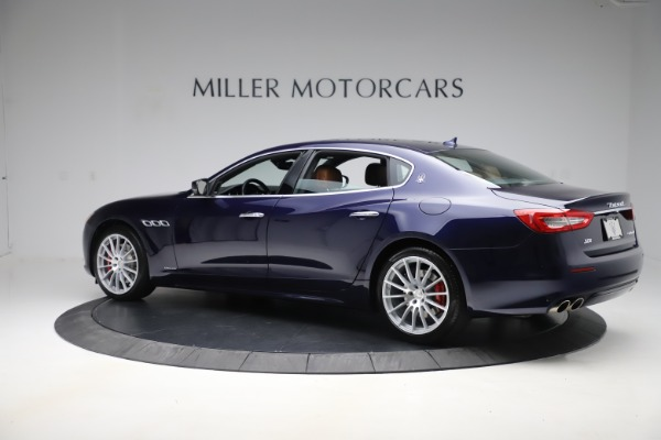 Used 2017 Maserati Quattroporte S Q4 GranLusso for sale Sold at Rolls-Royce Motor Cars Greenwich in Greenwich CT 06830 4