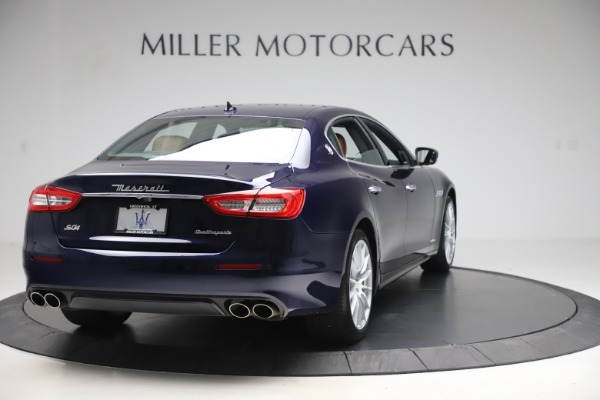 Used 2017 Maserati Quattroporte S Q4 GranLusso for sale Sold at Rolls-Royce Motor Cars Greenwich in Greenwich CT 06830 7