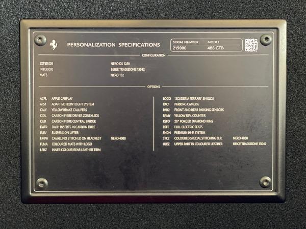 Used 2017 Ferrari 488 GTB for sale $240,900 at Rolls-Royce Motor Cars Greenwich in Greenwich CT 06830 20
