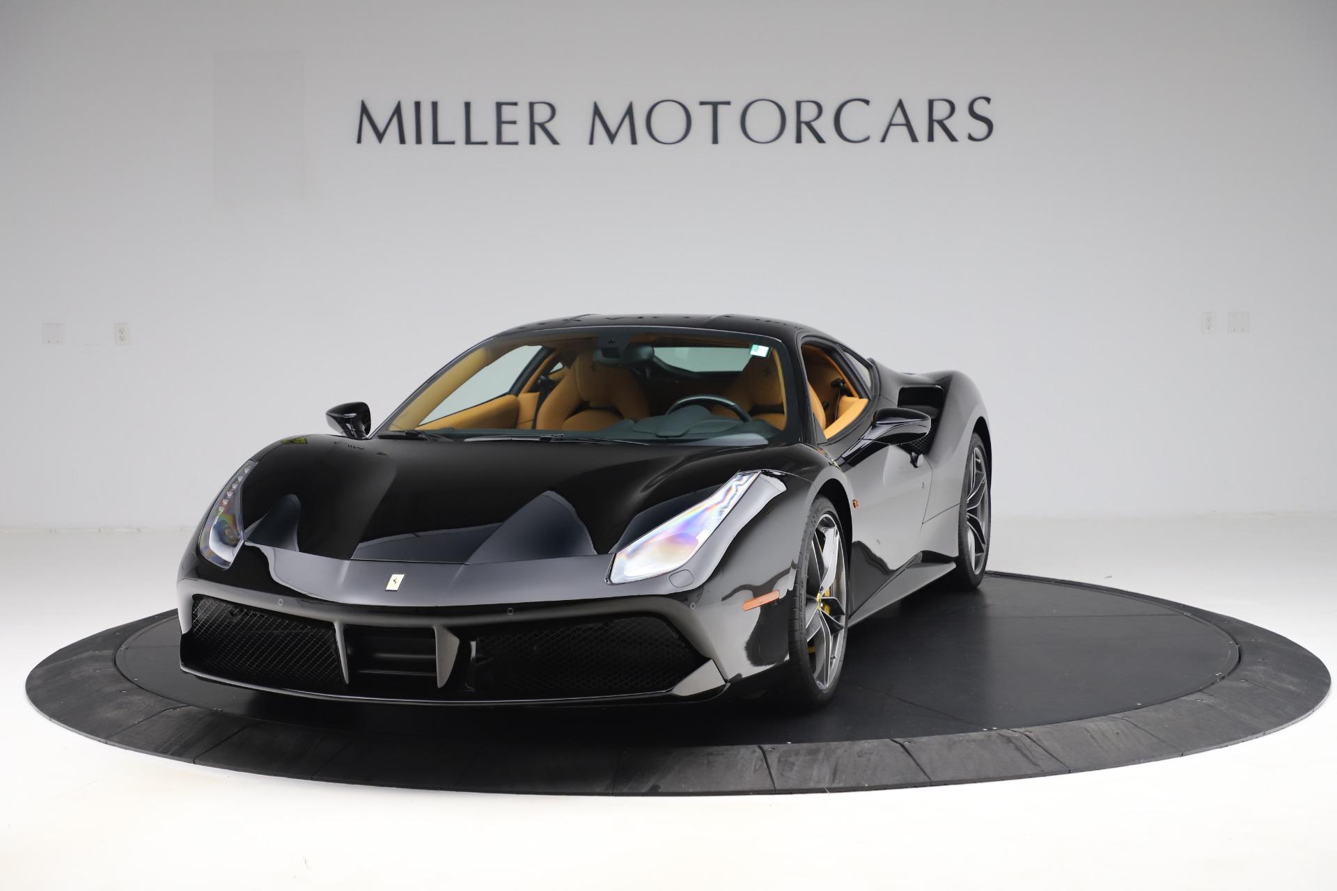 Used 2017 Ferrari 488 GTB for sale $240,900 at Rolls-Royce Motor Cars Greenwich in Greenwich CT 06830 1