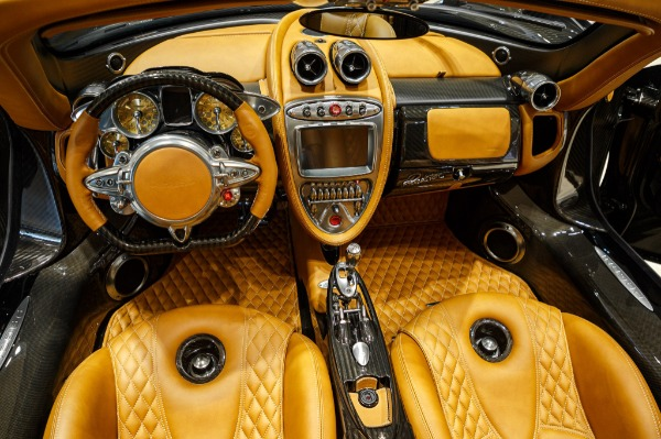 Used 2017 Pagani Huayra Roadster Roadster for sale Call for price at Rolls-Royce Motor Cars Greenwich in Greenwich CT 06830 12