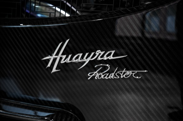 Used 2017 Pagani Huayra Roadster Roadster for sale Call for price at Rolls-Royce Motor Cars Greenwich in Greenwich CT 06830 17