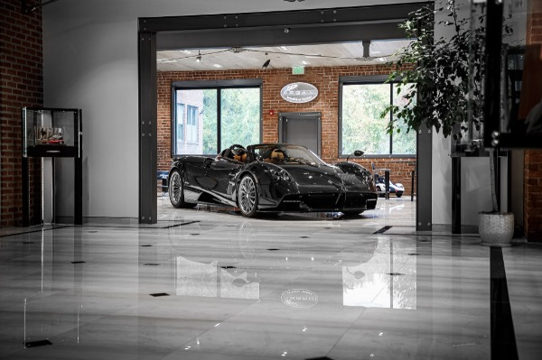 Used 2017 Pagani Huayra Roadster Roadster for sale Call for price at Rolls-Royce Motor Cars Greenwich in Greenwich CT 06830 4