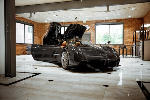 Used 2017 Pagani Huayra Roadster Roadster for sale Call for price at Rolls-Royce Motor Cars Greenwich in Greenwich CT 06830 6