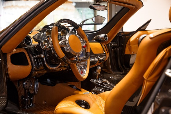 Used 2017 Pagani Huayra Roadster Roadster for sale Call for price at Rolls-Royce Motor Cars Greenwich in Greenwich CT 06830 9