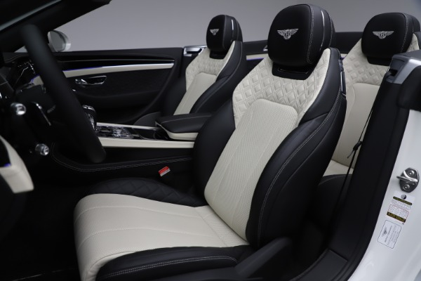 Used 2020 Bentley Continental GTC V8 for sale $277,915 at Rolls-Royce Motor Cars Greenwich in Greenwich CT 06830 28