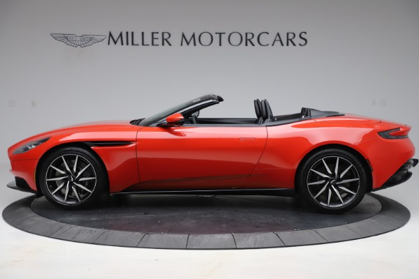New 2020 Aston Martin DB11 Volante Convertible for sale $254,531 at Rolls-Royce Motor Cars Greenwich in Greenwich CT 06830 2