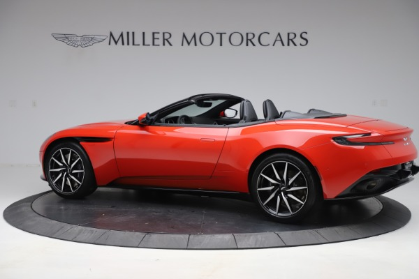 New 2020 Aston Martin DB11 Volante Convertible for sale $254,531 at Rolls-Royce Motor Cars Greenwich in Greenwich CT 06830 3