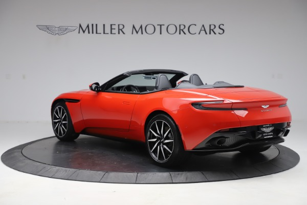 New 2020 Aston Martin DB11 Volante Convertible for sale $254,531 at Rolls-Royce Motor Cars Greenwich in Greenwich CT 06830 4