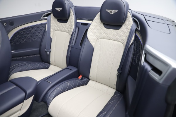 New 2020 Bentley Continental GTC V8 for sale Sold at Rolls-Royce Motor Cars Greenwich in Greenwich CT 06830 27