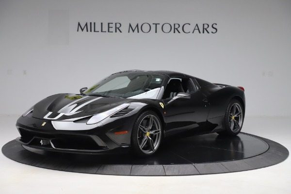 Used 2015 Ferrari 458 Speciale Aperta for sale $635,900 at Rolls-Royce Motor Cars Greenwich in Greenwich CT 06830 13