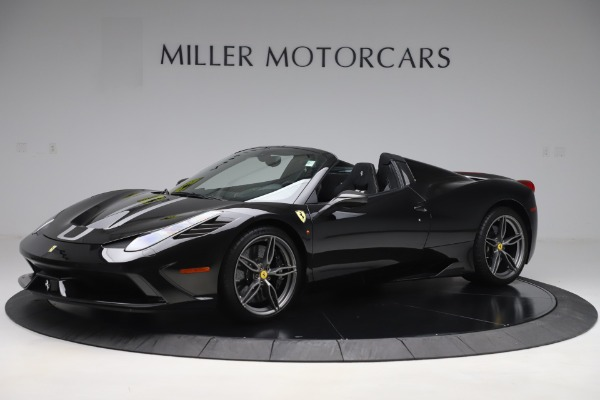 Used 2015 Ferrari 458 Speciale Aperta for sale $635,900 at Rolls-Royce Motor Cars Greenwich in Greenwich CT 06830 2
