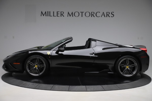 Used 2015 Ferrari 458 Speciale Aperta for sale $635,900 at Rolls-Royce Motor Cars Greenwich in Greenwich CT 06830 3