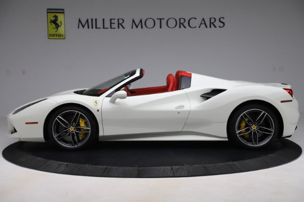 Used 2018 Ferrari 488 Spider for sale Sold at Rolls-Royce Motor Cars Greenwich in Greenwich CT 06830 3