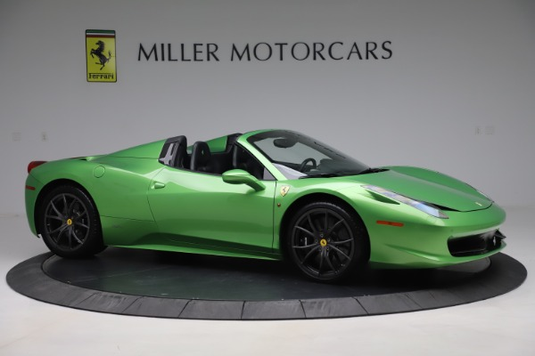 Used 2015 Ferrari 458 Spider for sale $249,900 at Rolls-Royce Motor Cars Greenwich in Greenwich CT 06830 10