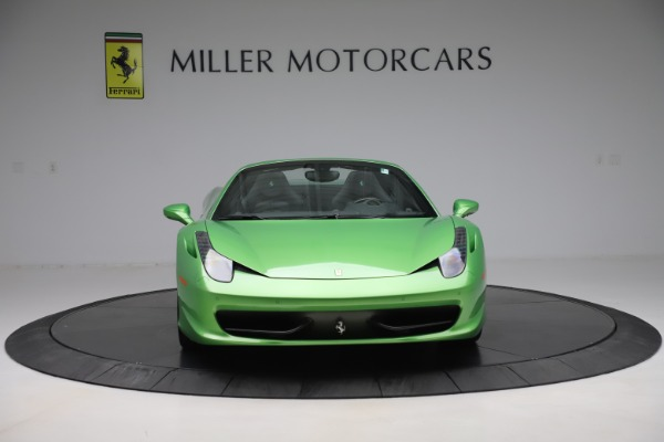 Used 2015 Ferrari 458 Spider for sale $249,900 at Rolls-Royce Motor Cars Greenwich in Greenwich CT 06830 12