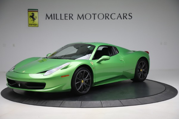 Used 2015 Ferrari 458 Spider for sale $249,900 at Rolls-Royce Motor Cars Greenwich in Greenwich CT 06830 13