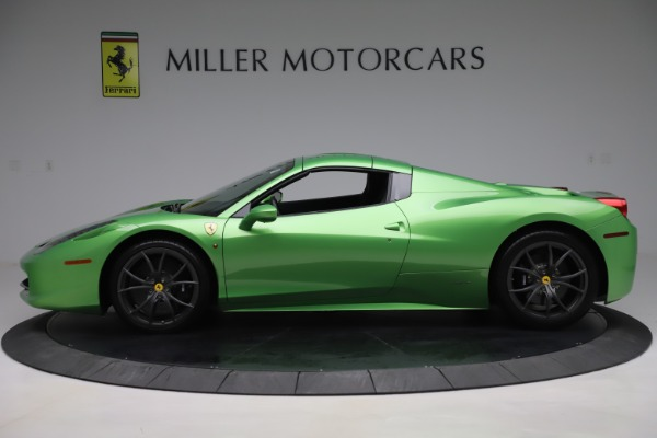 Used 2015 Ferrari 458 Spider for sale $249,900 at Rolls-Royce Motor Cars Greenwich in Greenwich CT 06830 14