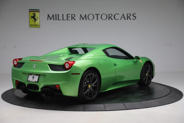 Used 2015 Ferrari 458 Spider for sale $249,900 at Rolls-Royce Motor Cars Greenwich in Greenwich CT 06830 16