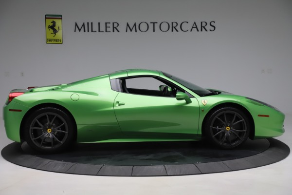 Used 2015 Ferrari 458 Spider for sale $249,900 at Rolls-Royce Motor Cars Greenwich in Greenwich CT 06830 17