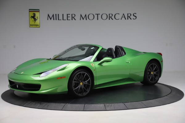 Used 2015 Ferrari 458 Spider for sale $249,900 at Rolls-Royce Motor Cars Greenwich in Greenwich CT 06830 2