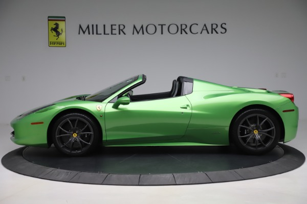 Used 2015 Ferrari 458 Spider for sale $249,900 at Rolls-Royce Motor Cars Greenwich in Greenwich CT 06830 3