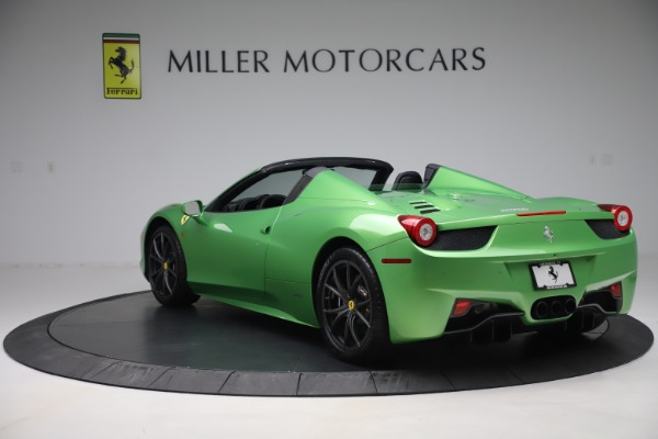 Used 2015 Ferrari 458 Spider for sale $249,900 at Rolls-Royce Motor Cars Greenwich in Greenwich CT 06830 5
