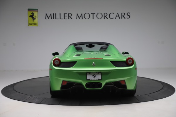 Used 2015 Ferrari 458 Spider for sale $249,900 at Rolls-Royce Motor Cars Greenwich in Greenwich CT 06830 6