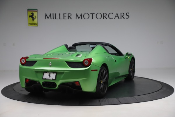 Used 2015 Ferrari 458 Spider for sale $249,900 at Rolls-Royce Motor Cars Greenwich in Greenwich CT 06830 7