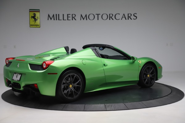 Used 2015 Ferrari 458 Spider for sale $249,900 at Rolls-Royce Motor Cars Greenwich in Greenwich CT 06830 8