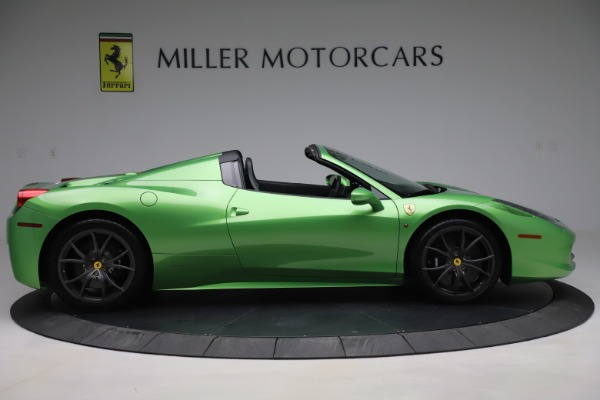 Used 2015 Ferrari 458 Spider for sale $249,900 at Rolls-Royce Motor Cars Greenwich in Greenwich CT 06830 9