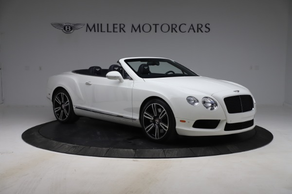 Used 2015 Bentley Continental GTC V8 for sale $119,900 at Rolls-Royce Motor Cars Greenwich in Greenwich CT 06830 11