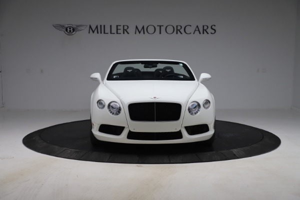 Used 2015 Bentley Continental GTC V8 for sale $119,900 at Rolls-Royce Motor Cars Greenwich in Greenwich CT 06830 12