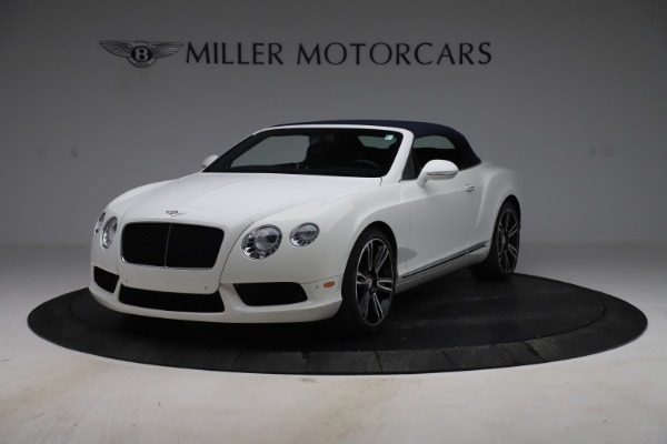 Used 2015 Bentley Continental GTC V8 for sale $119,900 at Rolls-Royce Motor Cars Greenwich in Greenwich CT 06830 13