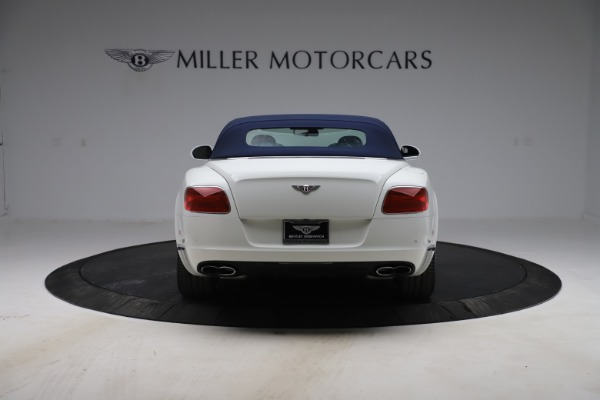 Used 2015 Bentley Continental GTC V8 for sale $119,900 at Rolls-Royce Motor Cars Greenwich in Greenwich CT 06830 16