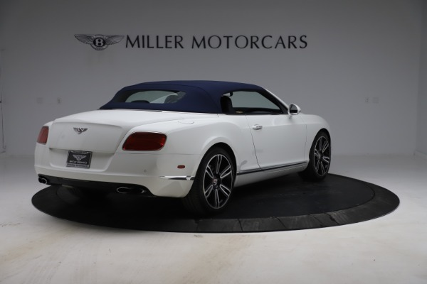 Used 2015 Bentley Continental GTC V8 for sale $119,900 at Rolls-Royce Motor Cars Greenwich in Greenwich CT 06830 17