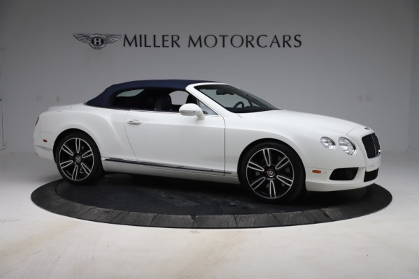Used 2015 Bentley Continental GTC V8 for sale $119,900 at Rolls-Royce Motor Cars Greenwich in Greenwich CT 06830 19